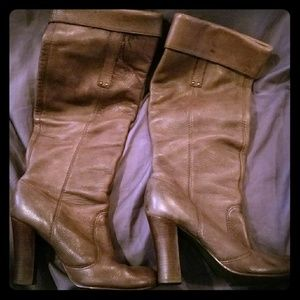 Leather Boots by Miss Sixty